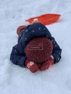 雪遊びの写真・画像素材[3051706]