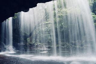 緑,滝,熊本,鍋ヶ滝,裏見の滝