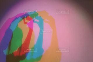 カラフルな影の写真・画像素材[851741]