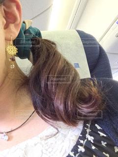 女,巻き髪,髪の毛,パーマ,くるくる