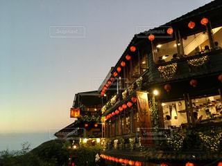 海外,霧,提灯,旅行,台湾,九份,台北,ノスタルジック