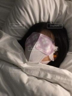 ホテルで完全睡眠タイムの写真・画像素材[2652979]