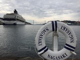 旅,のんびり,浮き輪,長崎,リフレッシュ,大型客船,女神大橋,松が枝