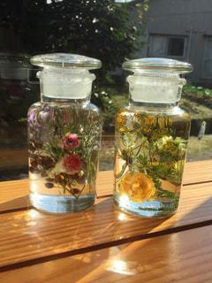 花,カラフル,ドライフラワー,標本,オイル,ハーバリウム