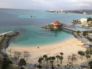 海,空,ビーチ,青,砂浜,沖縄,旅行