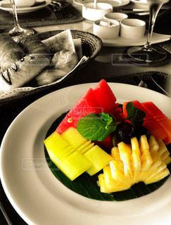 バリ島な朝食の写真・画像素材[897046]