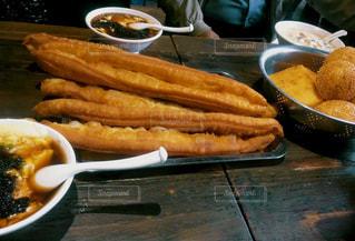 スープ,中国,朝ごはん,上海,グルメ,ローカル,揚げパン