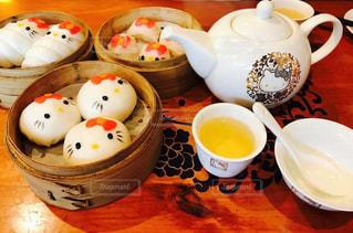 かわいい,香港,中華料理,キティちゃん,ハローキティディムサム