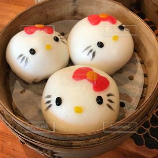 かわいい,香港,中華料理,肉まん,飲茶,キティちゃん,キティー,ハローキティー