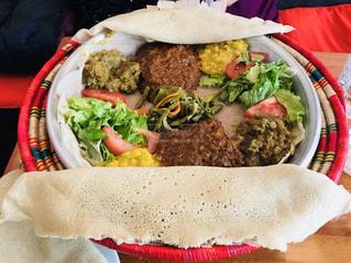 海外,フランス,料理,Paris,France,エチオピア,エチオピア料理,Les Saveurs d'Abyssinie