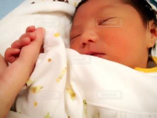 赤ちゃんの手の写真・画像素材[1016137]
