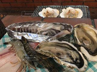 牡蠣,バーベキュー,休日,海鮮,エビ,BBQ,カキ,炭火焼き,いか,ホタテ,海老,帆立,海のミルク,イカ,ほたて,キンキン,きんきん