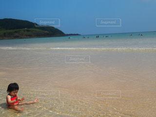 海,海水浴,長崎,離島,五島列島,初めて記念日,宇久島,初めての海水浴