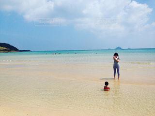 海,海水浴,長崎,離島,五島列島,宇久島,初めての海水浴