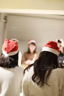 帽子をかぶっている女性 - No.937281