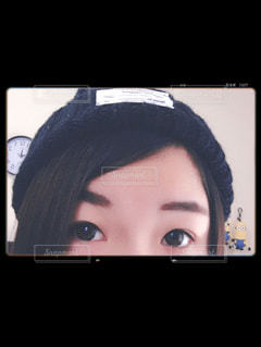 ニット帽デビューの写真・画像素材[858011]