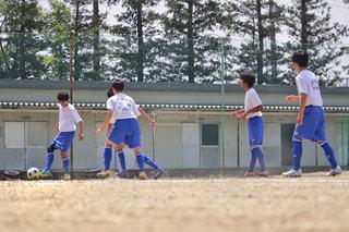 子ども,サッカーボール,サッカー,こども,男の子,部活,汗,トレーリング