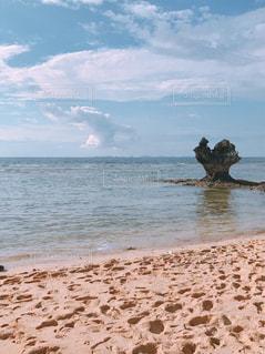 風景,南国,晴れ,沖縄,ハート,岩,旅行,日本,昼,ラブ,おきなわ,めんそーれ