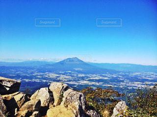 山頂からの眺めの写真・画像素材[987299]