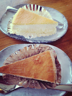 チーズケーキ,ミルクティー色