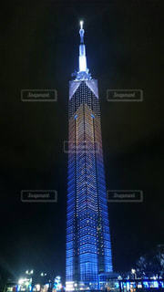 福岡タワーのイルミネーション - No.862557
