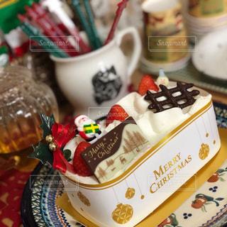 クリスマス ホームパーティー 冬 ケーキ