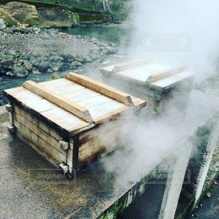 地熱で自然のご飯作り - No.966028