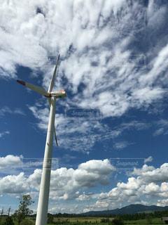 エコエネルギー風力発電の写真・画像素材[966938]