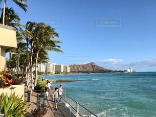 ハワイ アメリカ ダイヤモンドヘッド 海 景色