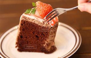 シフォンケーキの写真・画像素材[871440]
