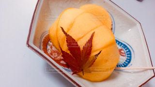 柿と紅葉の写真・画像素材[872355]