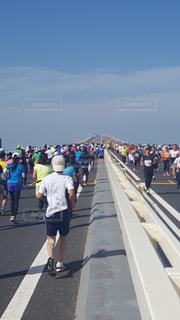 アクアラインマラソンの写真・画像素材[978635]
