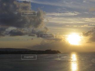 風景,海,空,夕日,夕焼け,夕暮れ,グアム