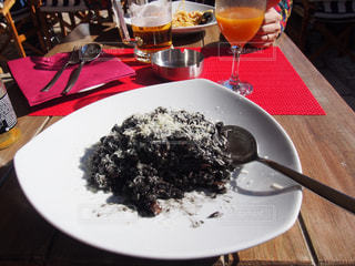 黒,米,美味しい,海鮮,クロアチア,リゾット,イカスミ,ドブロブニク,ドブロブニク旧市街,イカスミリゾット