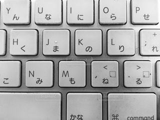 近くに黒のキーボードのの写真・画像素材[926094]