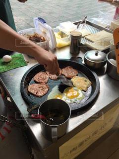 屋台,パン,旅行,サンドイッチ,ハム,台湾,おいしい,たまご,台北,海外旅行,スパム,サンド,うまい,ソウルフード