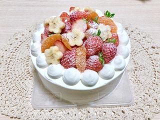 食べ物,ケーキ,いちご,苺,デザート,フルーツ,果物,みかん,誕生日,フルーツケーキ,手作り,新鮮,誕生日ケーキ,手作りケーキ,デコレーションケーキ,バナナ,フレッシュフルーツ,フルーツデコレーション,せとか