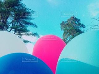 赤白と青の傘 - No.863478