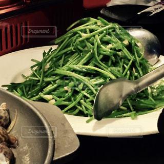 台湾,台南,炒めもの,すいれん菜