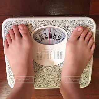 まだ、39キロ。細っ!の写真・画像素材[2319444]