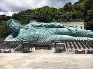 旅行,福岡,巨大,涅槃像,南蔵院
