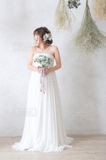 女性,花嫁,人物,人,ウェディングドレス,ブーケ,マタニティ,ウェディング,ウェディングフォト