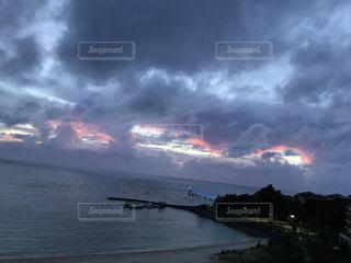 海,夕暮れ,沖縄,観光