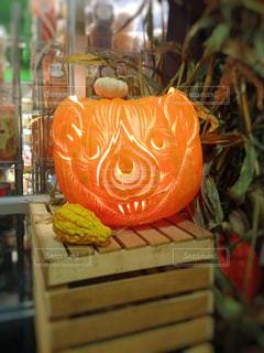 かぼちゃランタンの写真・画像素材[868067]