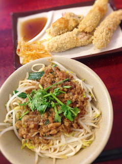 台湾,麺,エビ,台北,府城台南美食,蝦捲,肉燥乾拌麺