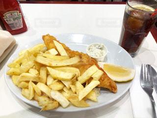 ロンドンのfish&chipsの写真・画像素材[920528]