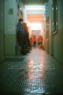ドアのクローズアップの写真・画像素材[2181604]