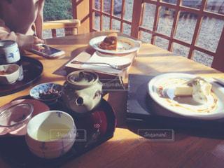 あたたかい,お寺,チーズケーキ,あったかい,緑茶,hot,煎茶,茶庭