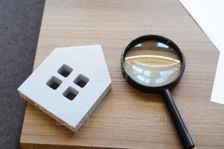 木製のテーブルの写真・画像素材[2404458]