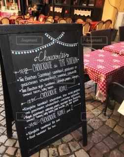 フランス,黒板,レストラン,旅先,フランス語